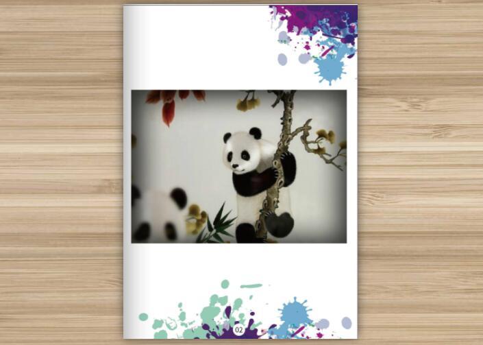 熊猫电子宣传册案例